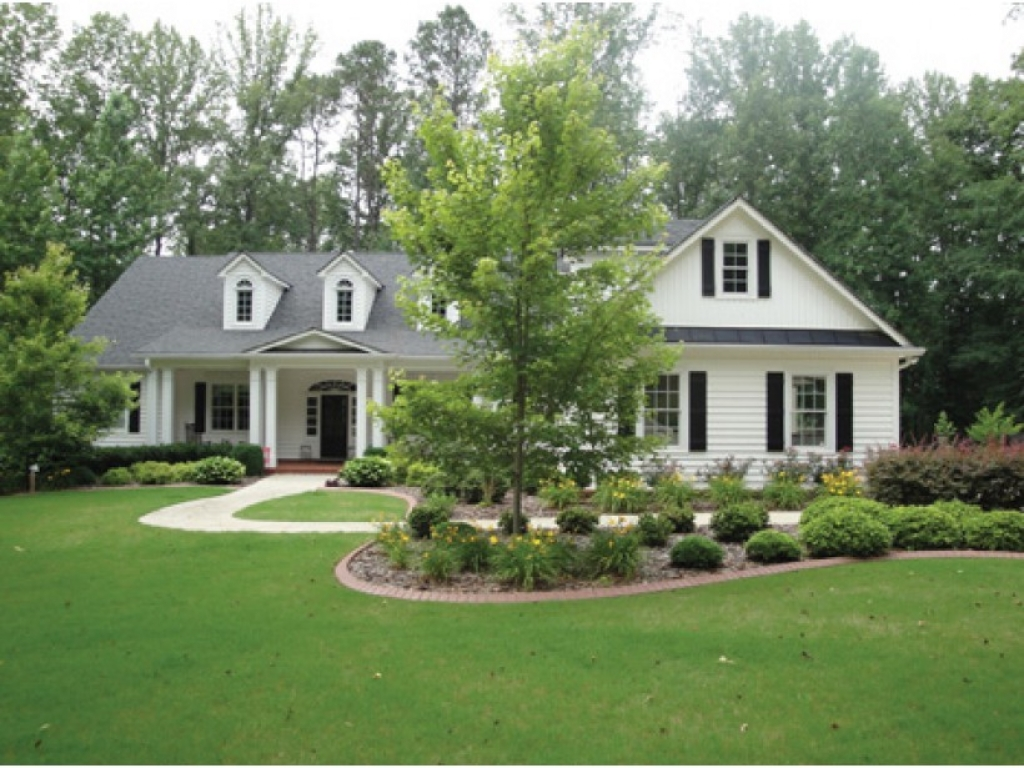 Eplans colonial house plan southern colonial beauty 3190 for Southern country home plans