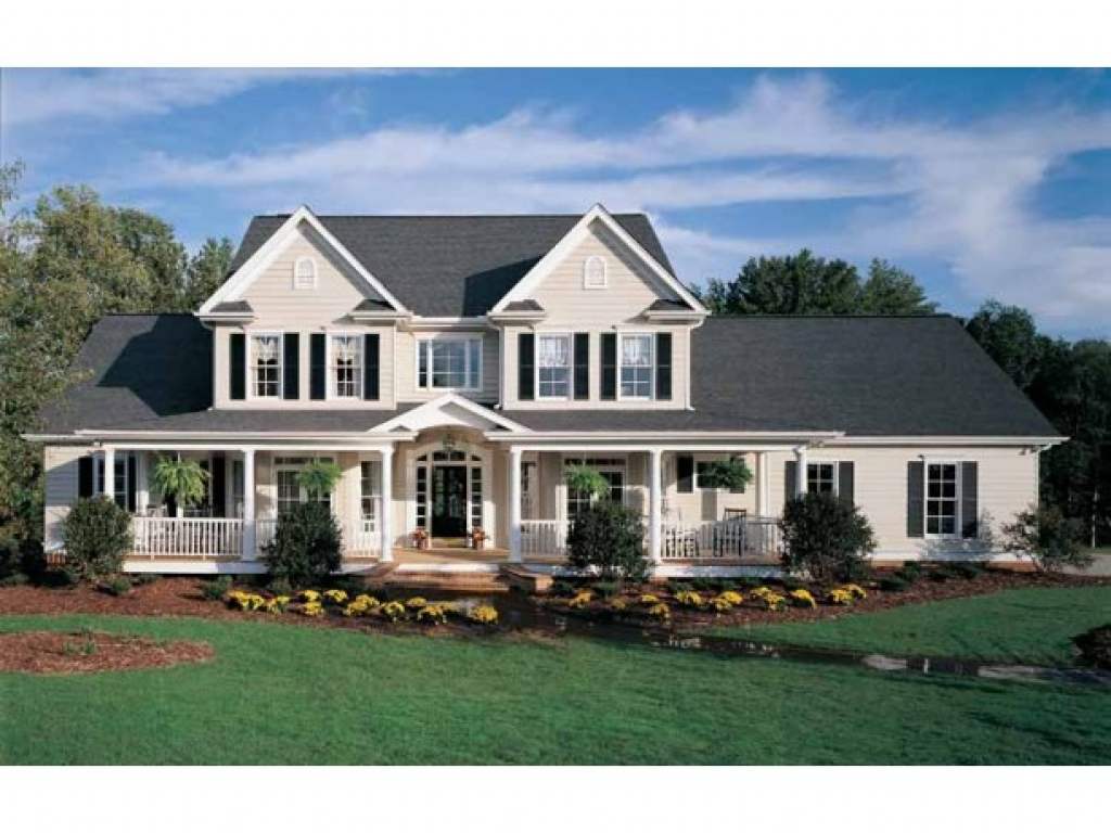 Country farmhouse style house plans my country farmhouse for Old farmhouse house plans