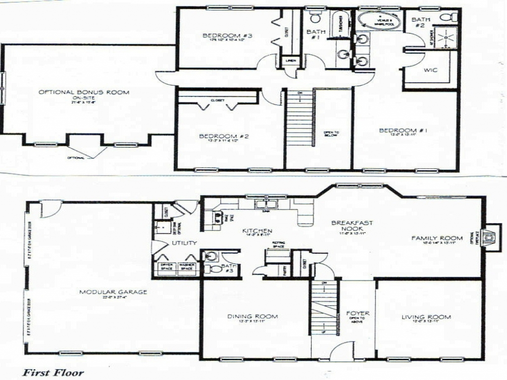 Two Story House Plans With Loft 3 Bedroom Two Story House Plans Loft Bedrooms Two Bedroom