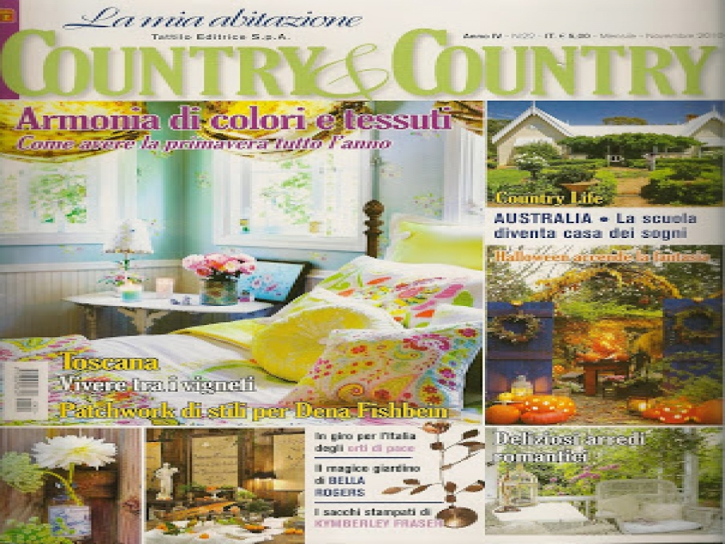 Bella 39 s rose cottage country country magazine country for Country cottage magazine