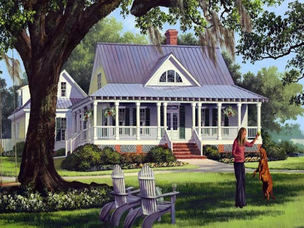Low country farmhouse house plans southern farmhouse for Low country farmhouse plans