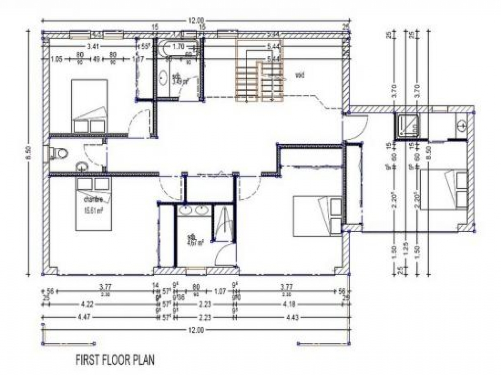 Modern 4 bedroom house plans modern villa plans modern for 4 bedroom villa plans