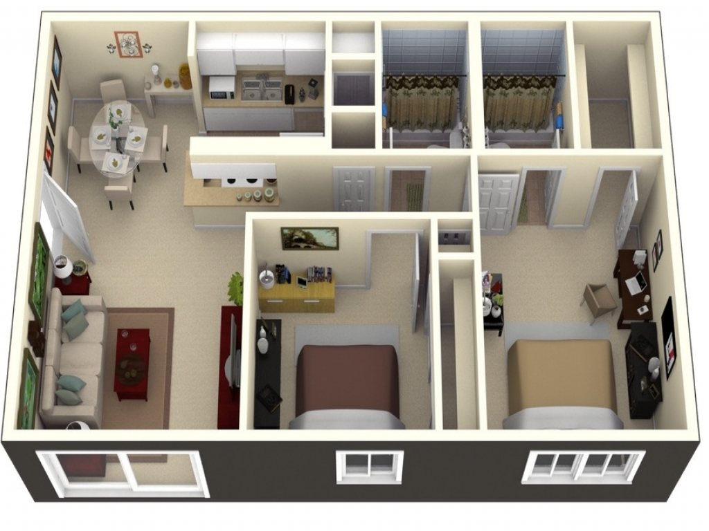 Small 2 bedroom apartment layout 2 bedroom apartment for 2 bedroom apartment layout ideas