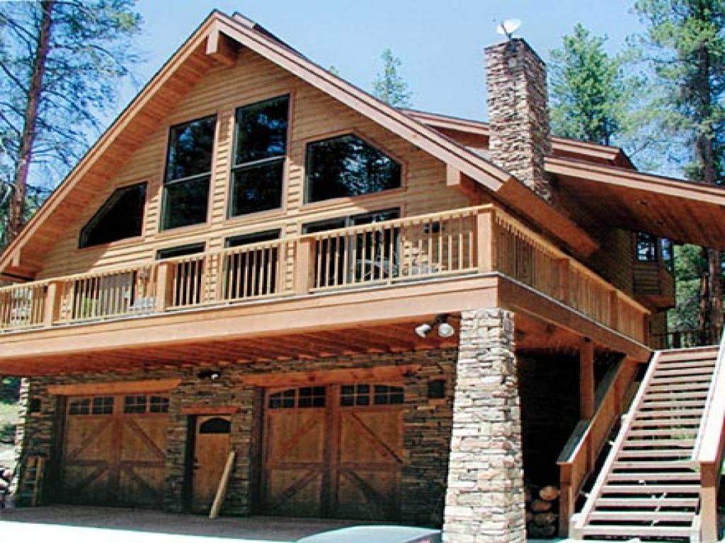 Chalet House Plans With Garage Under Bavarian Chalet House