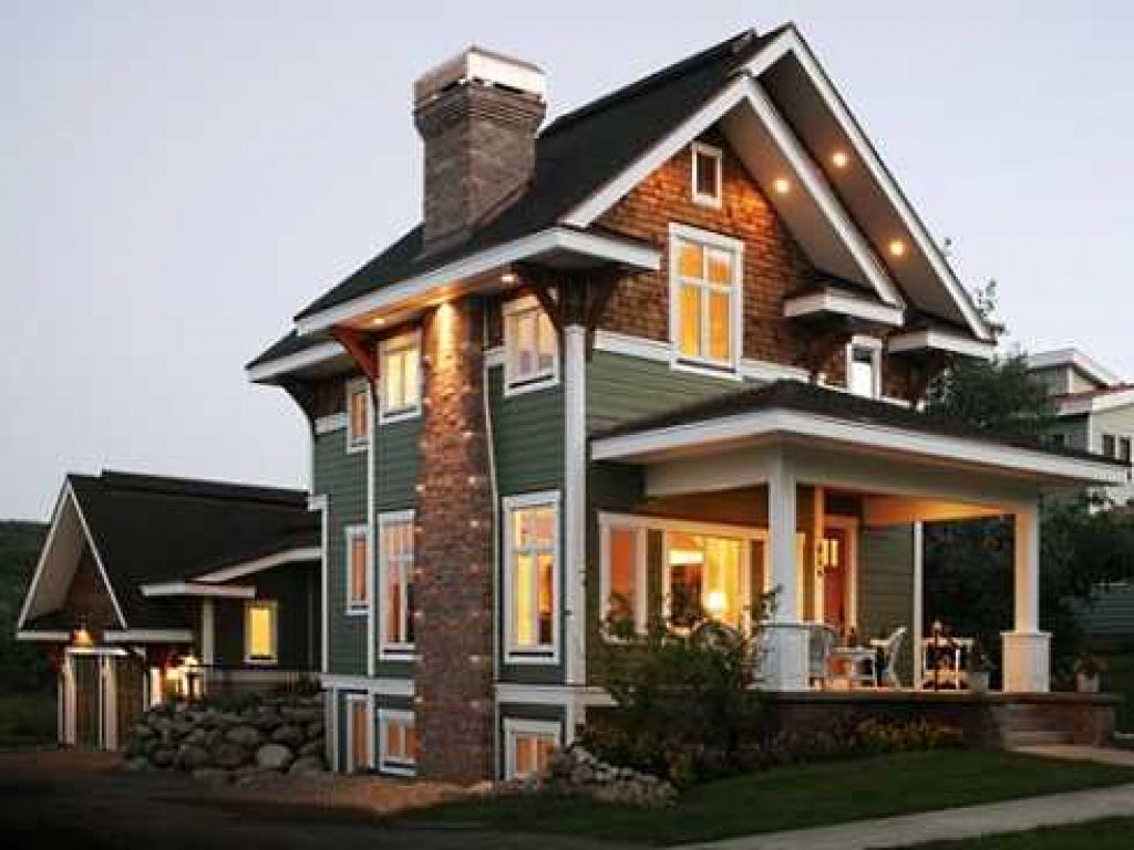 Craftsman style house plans home style craftsman house for Craftsman cabin house plans