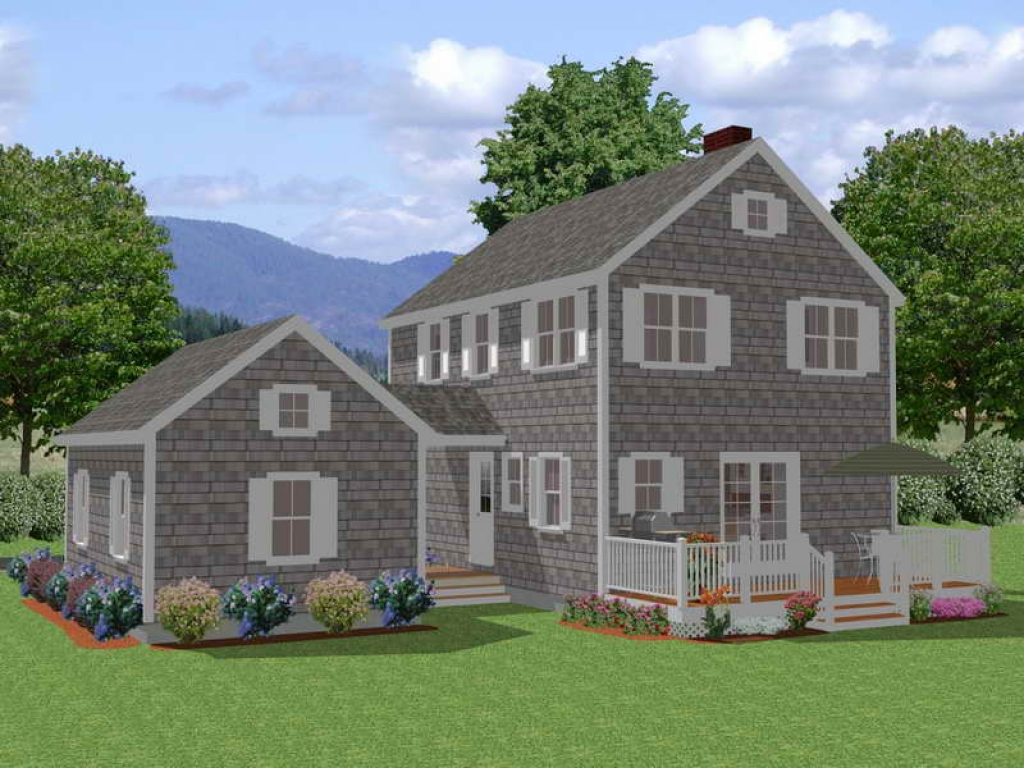 Two new england cape style dormers new england colonial style house plans new england home New england home design ideas