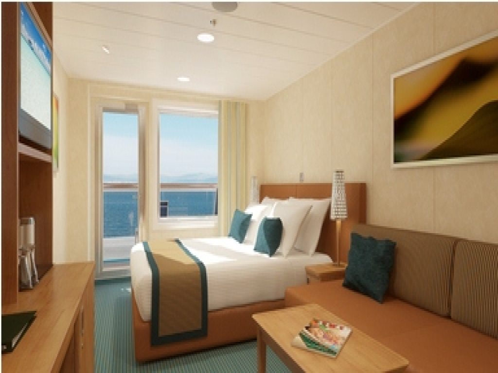 Deck  Carnival Imagination Best Ocean View Rooms