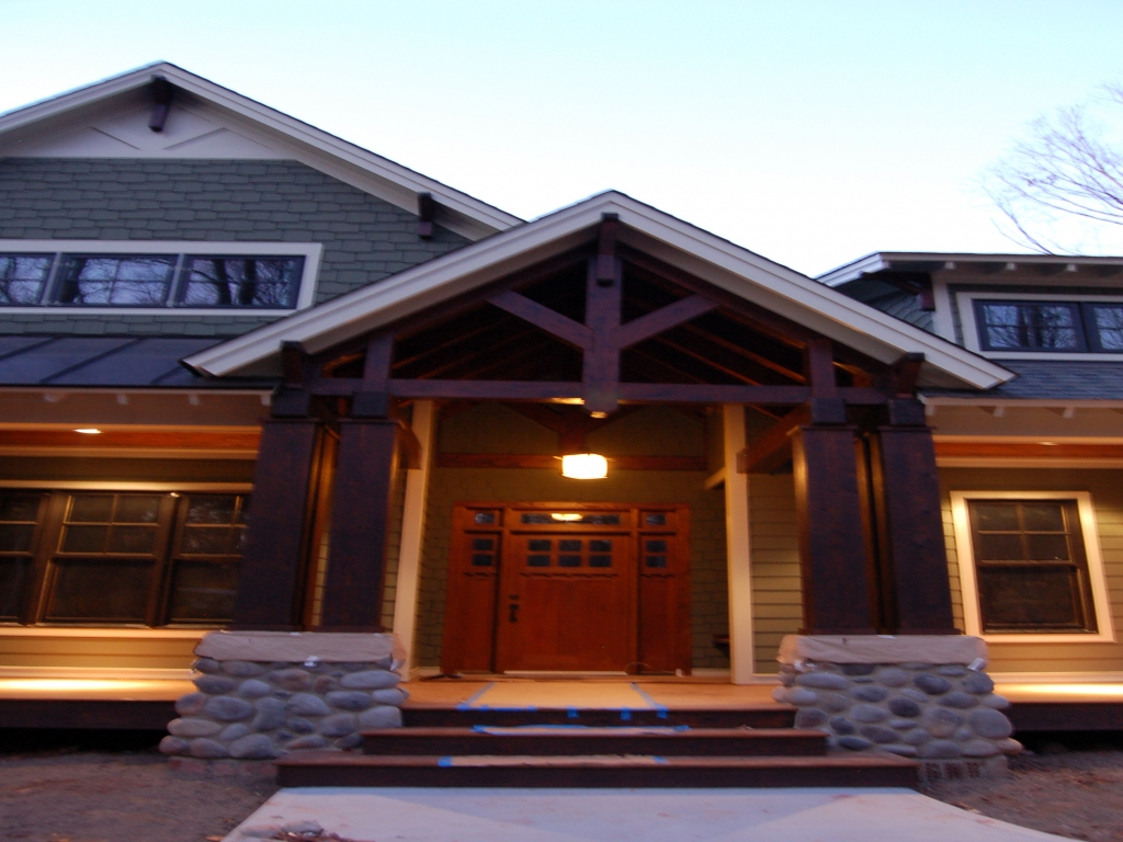 Modern craftsman style homes rustic craftsman style homes for Modern craftsman
