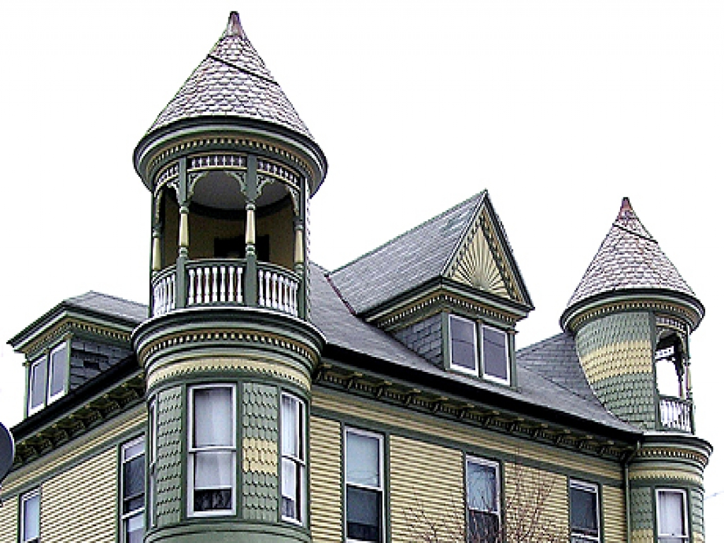 Victorian house with turret for sale gothic victorian for Queen anne house plans with turrets