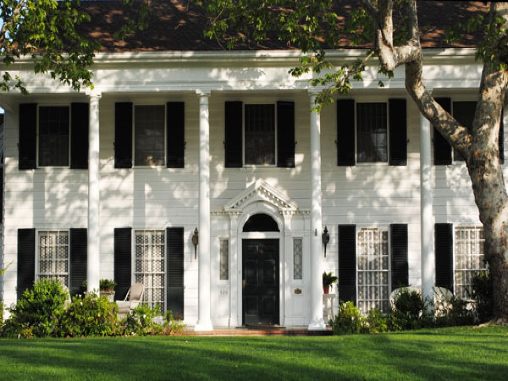 French Colonial Style Homes Southern Colonial Style Home