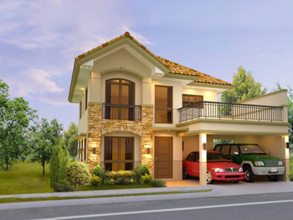 Two Story House Designs Philippines Two Story House In