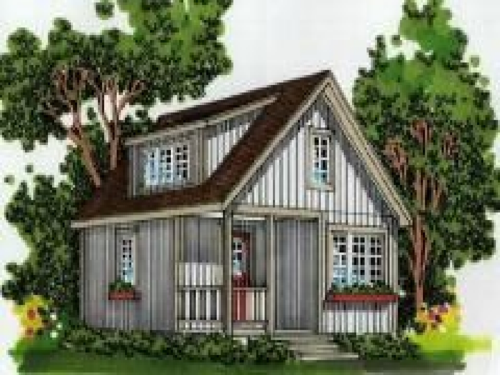 Very small cottage house plans very small cabin plans for Very small cottages