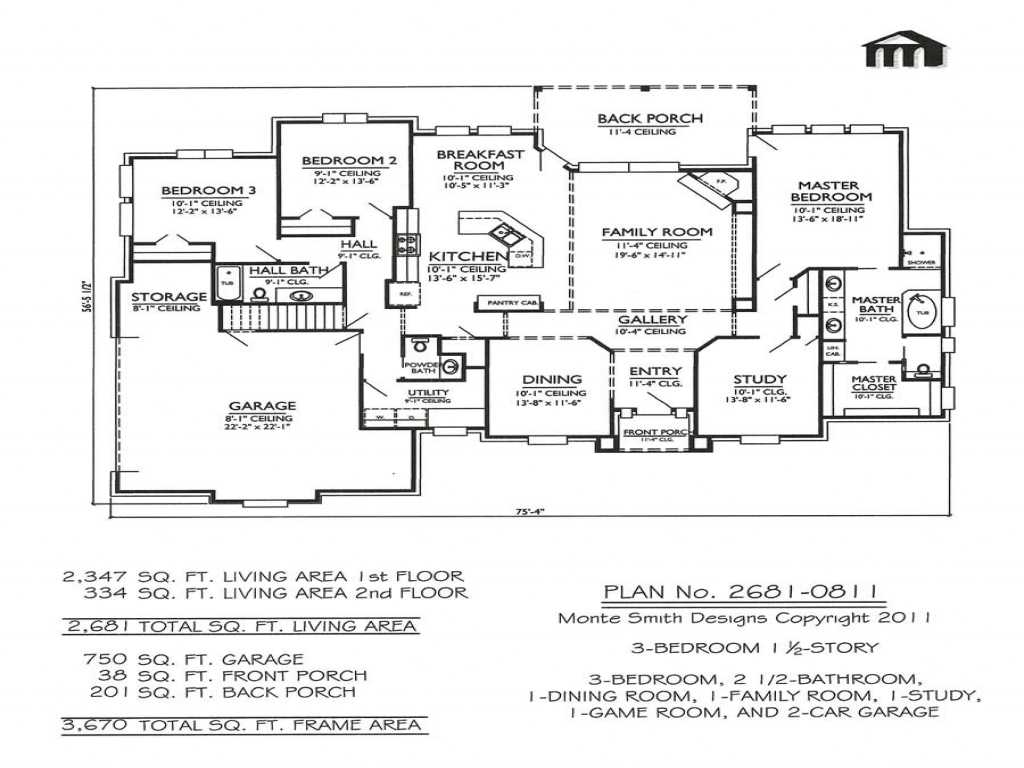 Vdara two bedroom loft 2 story 3 bedroom house plans for Two bedroom loft floor plans