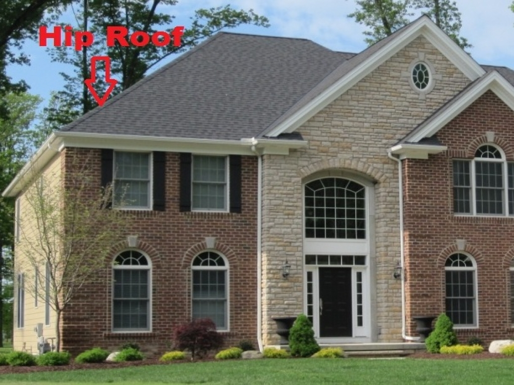 Hip roof house styles hip roof house hip roof house plans for Roof styles for homes