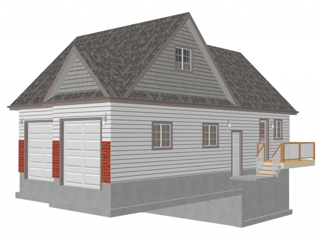Garage Plans With Loft Apartment Detached Garage Plans