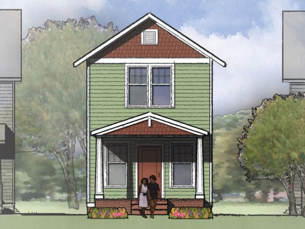 Small Two Story House Plans Designs Two-Story Small House
