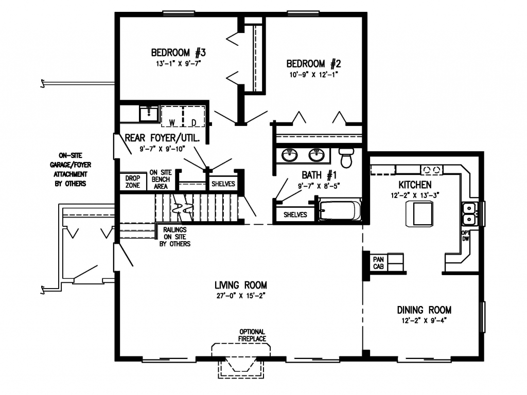 1 5 story house floor plans timber home floor plans for Timber home floor plans