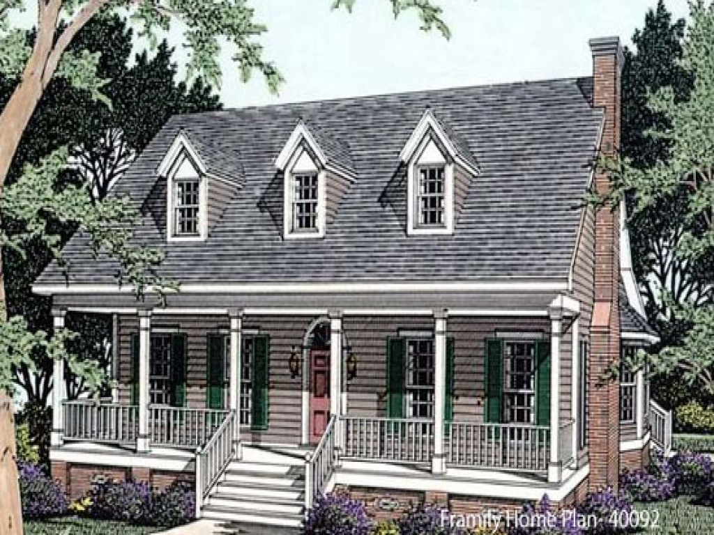 Open one story house plans one story house plans with for Single story house plans with front porch