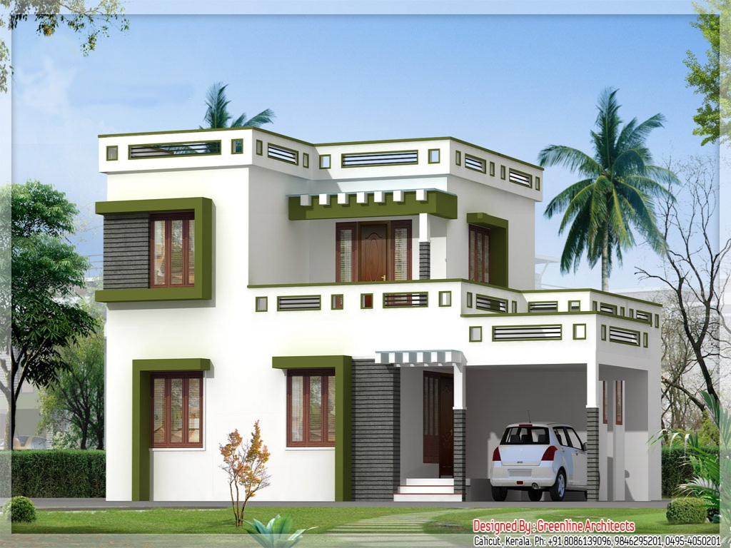 House plans kerala home design architectural house plans for Home models plans