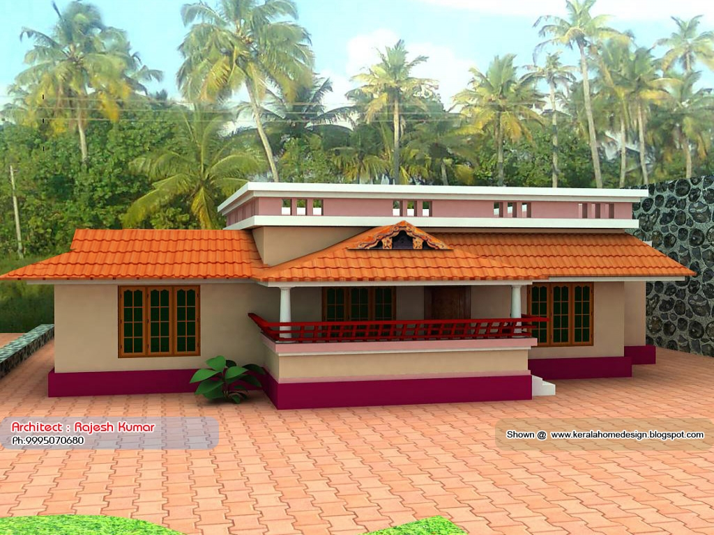 Kerala small house plans under 1000 sq ft single floor for Kerala home design 1000 sq feet
