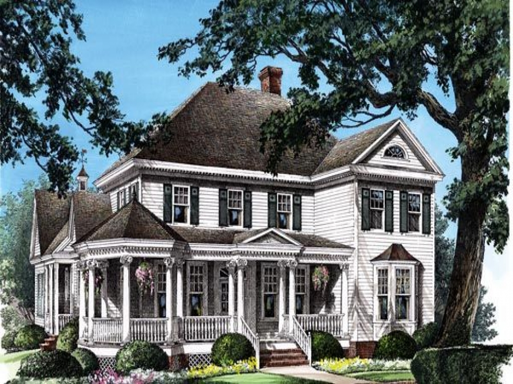 Southern victorian house plans country victorian home for Victorian playhouse plans