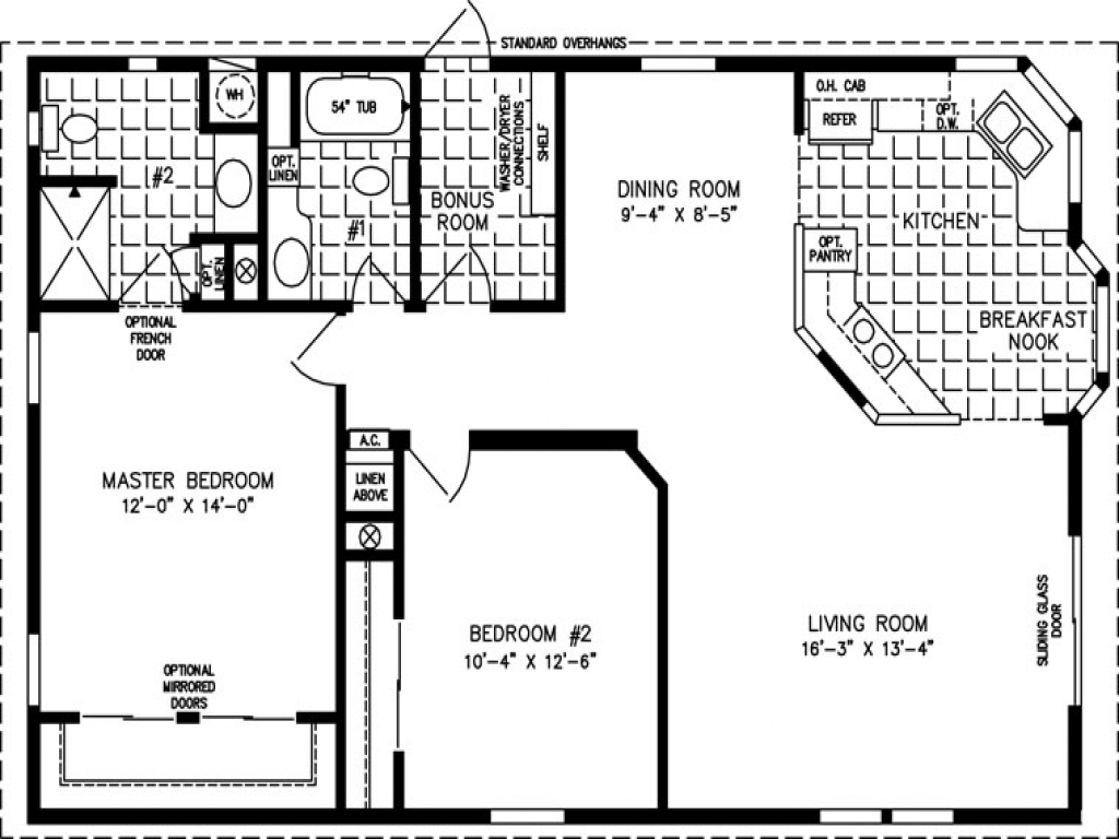 Small House Floor Plans Under 1000 Sq Ft: Floor 100 On 100 Floors Floor Plans Under 1000 Sq FT, 1000