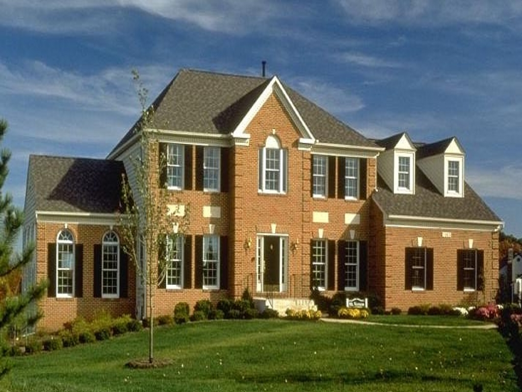 Modern american colonial style homes modern colonial for American colonial architecture