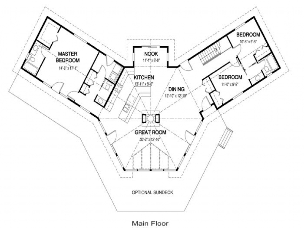 Simple Small Open Floor Plans Small Open Concept House