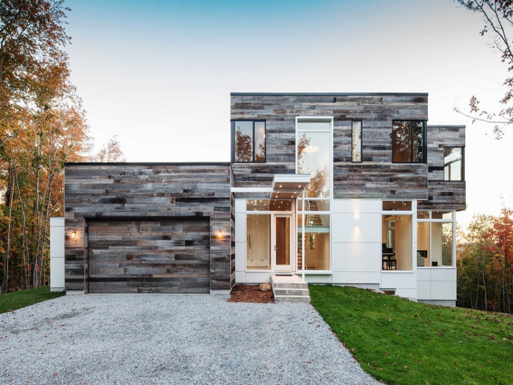 Reclaimed building materials modern house with reclaimed for Reclaimed house materials