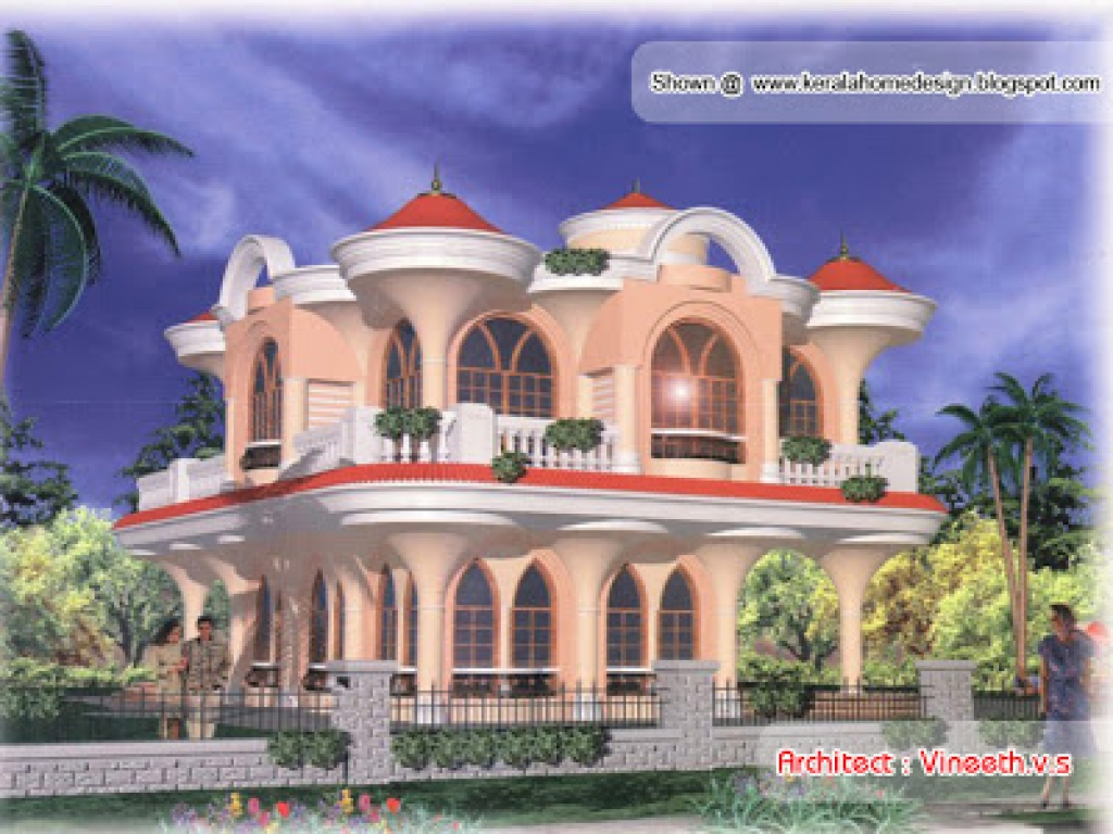 Front Elevation Of Houses Pictures : Arabic style homes arabian house designs