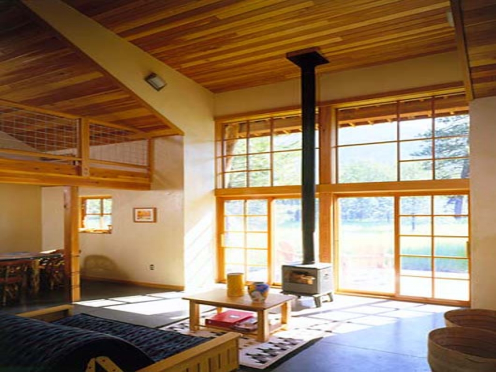 Cabin Interior Decorating Ideas Rustic Log Cabin Interior