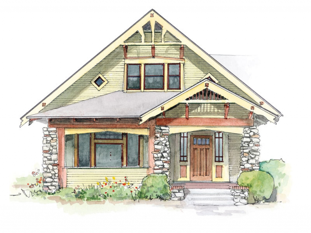 Gable Brackets And Craftsman Style Homes Craftsman Column