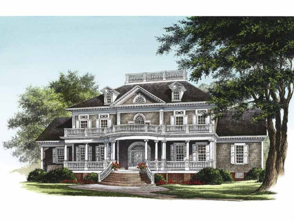 Victorian House Plans Neoclassical House Plan