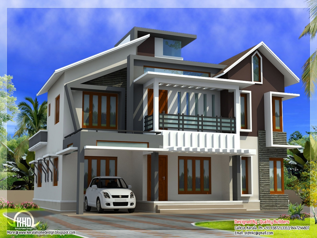 New contemporary unique house plans modern contemporary for Unique modern home plans