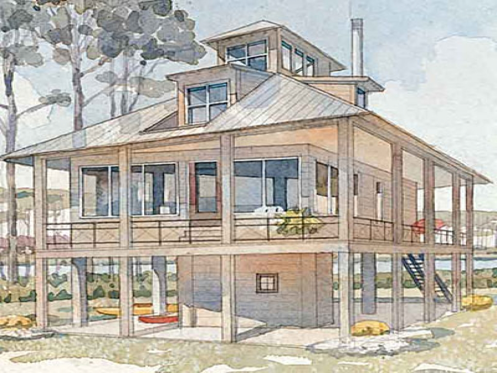 Tidewater haven house plan tidewater cottage house plans Coastal living house plans