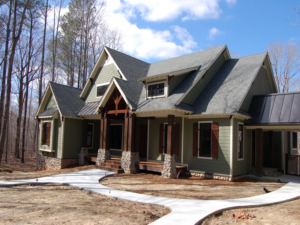 Modern craftsman style homes craftsman style homes with for Modern craftsman