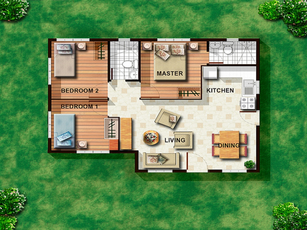 Small Cottage House Plans Small House Floor Plans ...
