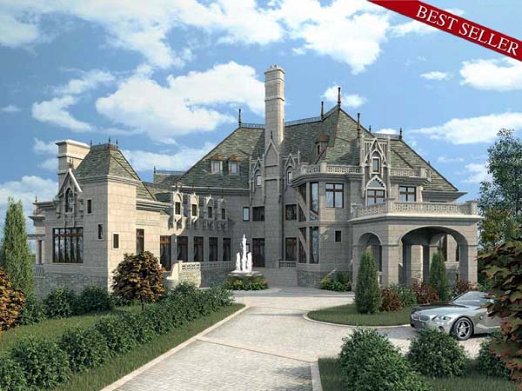 Castles And Mansions Luxury Dream Home Design USA