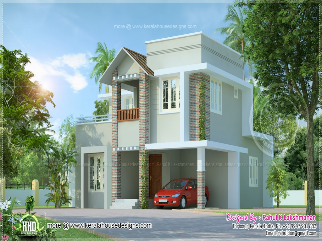 Small house floor plans and designs small villa house for Small villa design photos