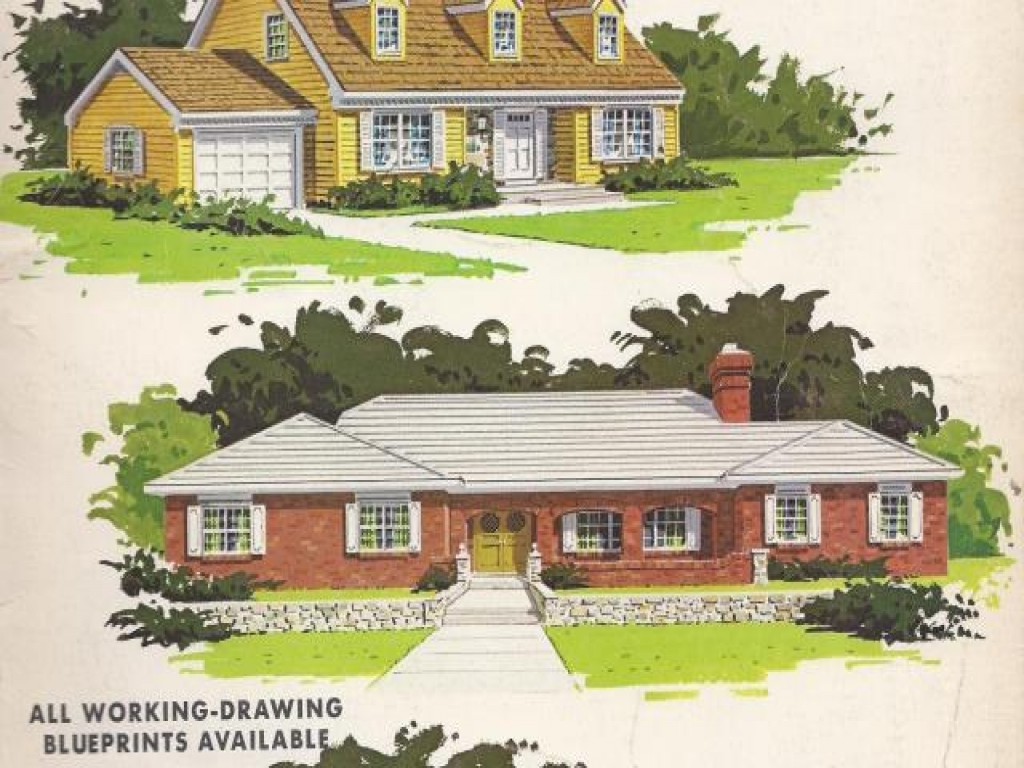 Vintage Vacation House Plans Vintage House Plans All The