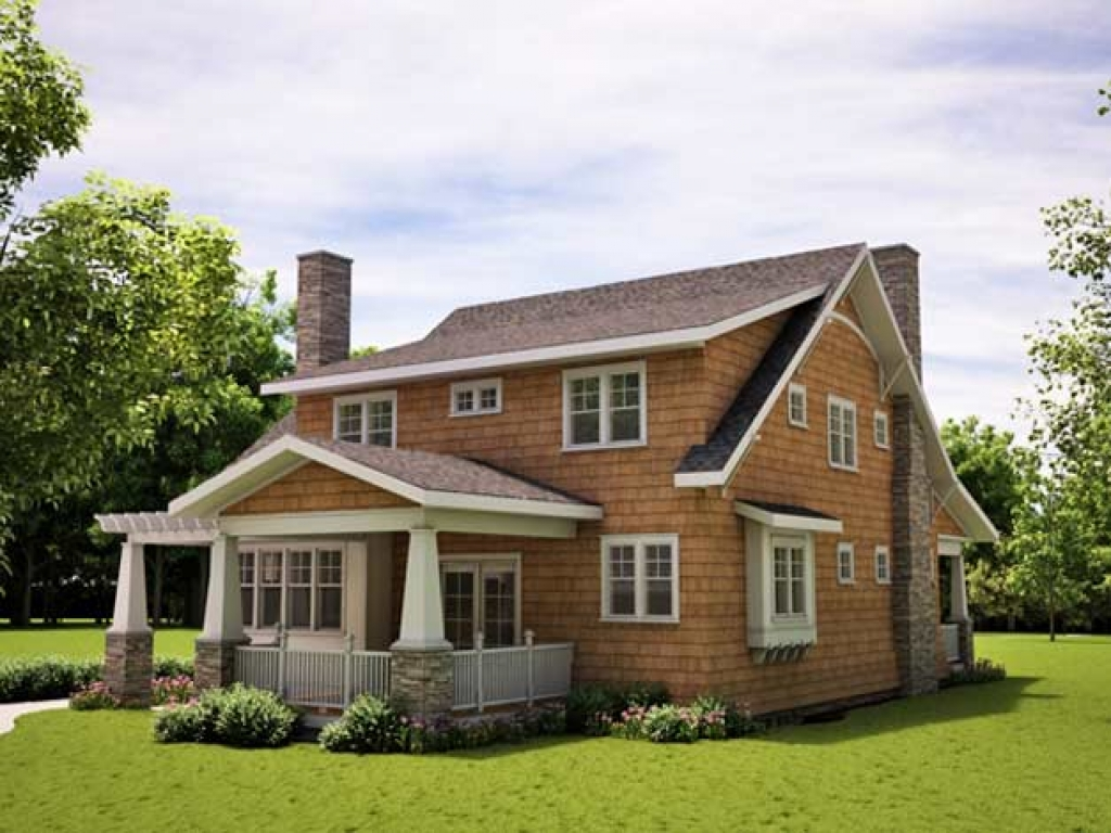 Arts and crafts bungalow style home plans fall arts and for Arts and crafts garage plans