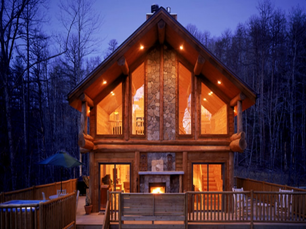 Beautiful Log Cabins Luxury Log Cabins Smoky Mountains