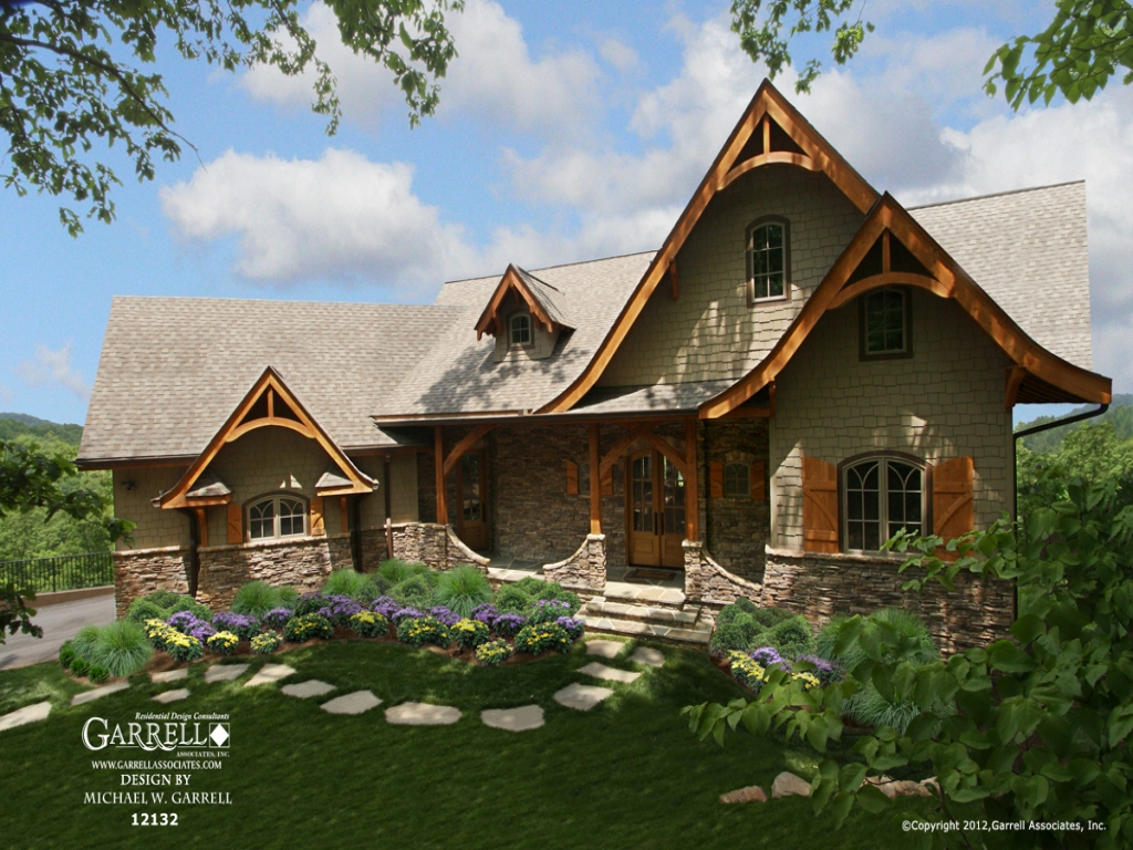 Hot springs cottage house plan hot springs arkansas for Cottage ranch house plans