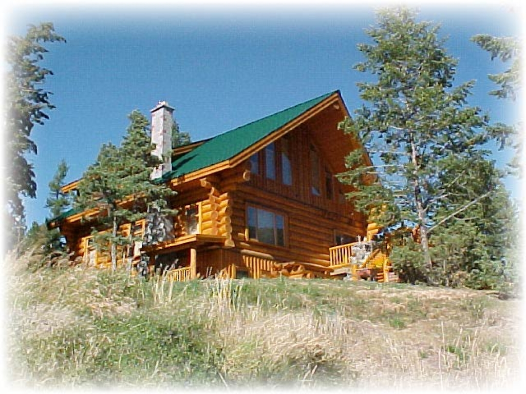 Mountain log cabin home maryland mountain log cabin homes for Ranch home kits for sale