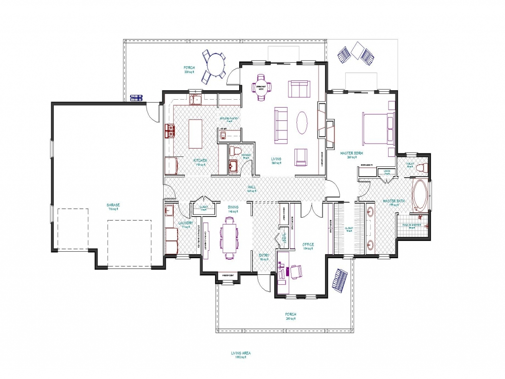 Mountain Ranch House Plans Ranch House Plans with ...