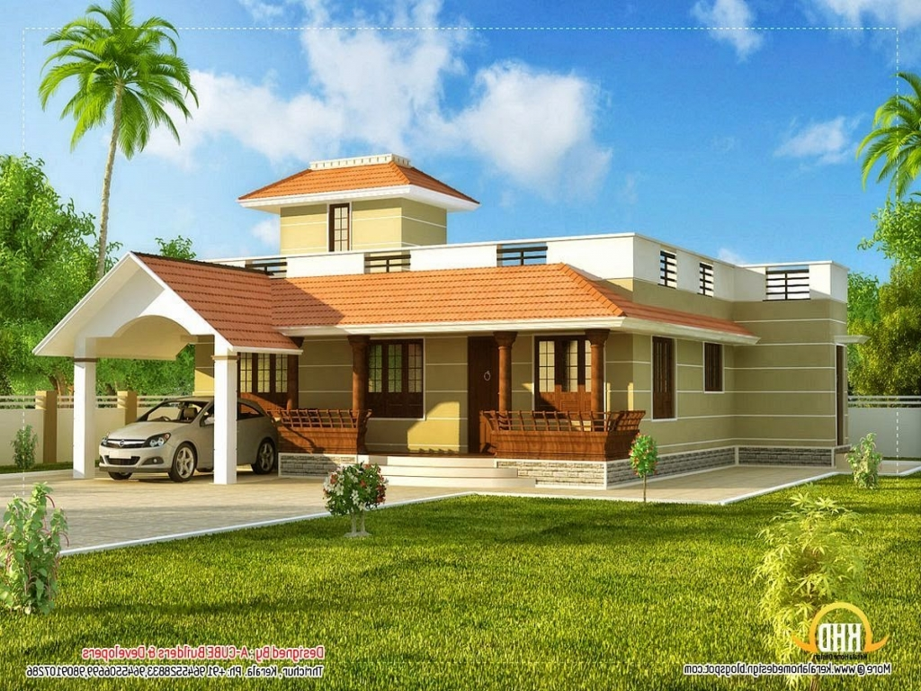 One story home designs one story home exterior designs for Exterior home design one story