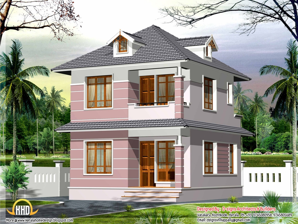 Small home plan house design small homes plans and designs for Small indian house images
