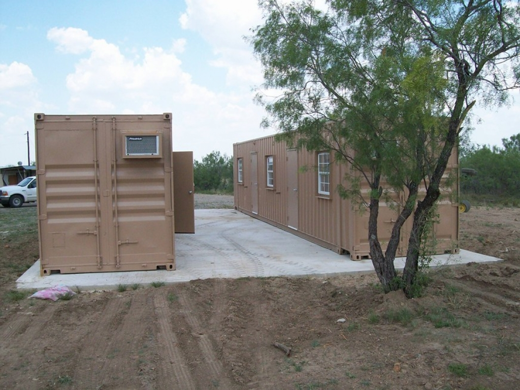 Storage Container Hunting Camp Conex Storage Containers