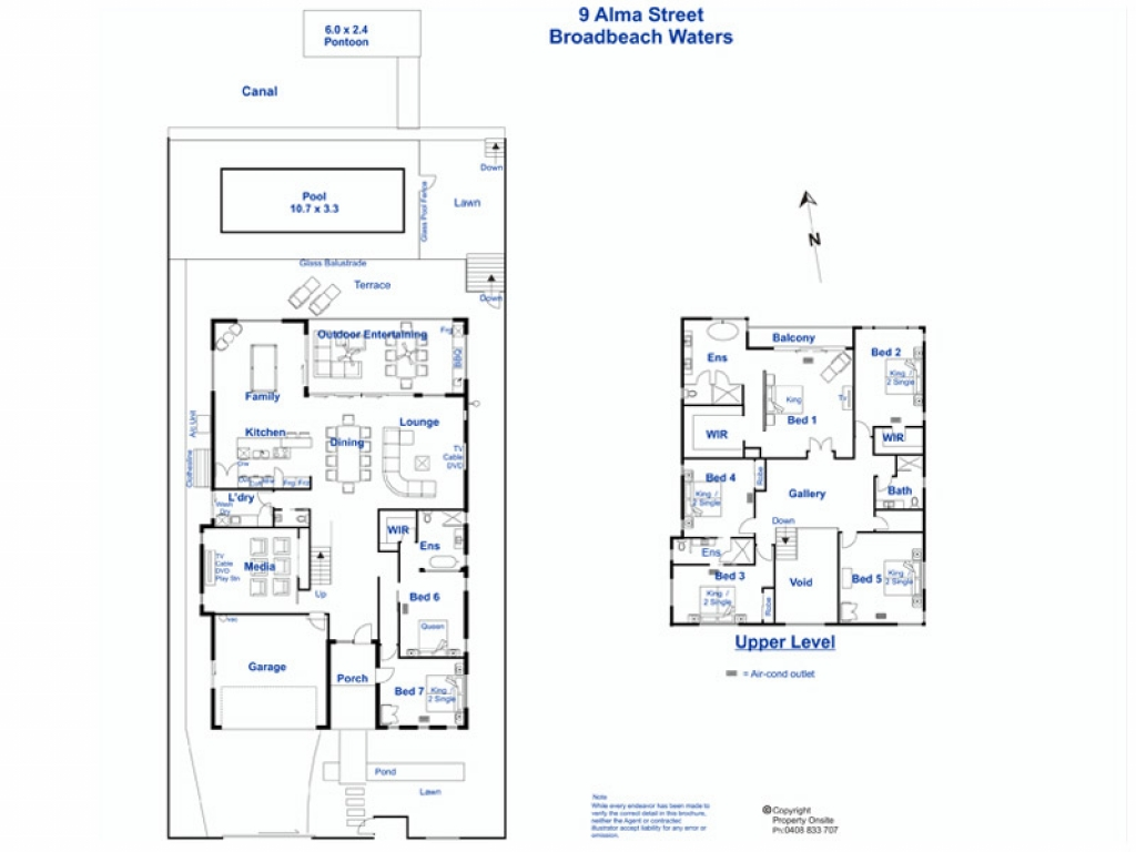 Beautiful homes waterfront home designs floor plans for Waterfront floor plans