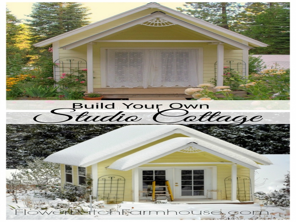 Build your own garden shed plans make your own water for Build your own bungalow